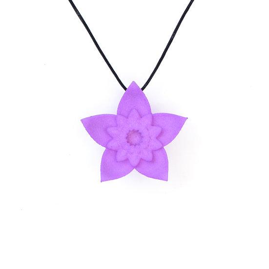 DAHLIA - pendant -Lilac