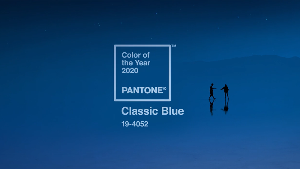 Discover Pantone colour of 2020 Classic blue jewellery and fashion accessories