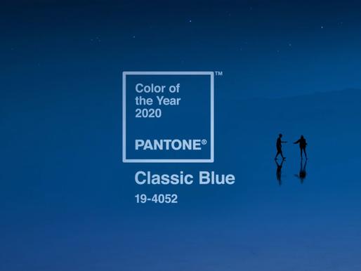Classic Blue - Pantone colour of 2020