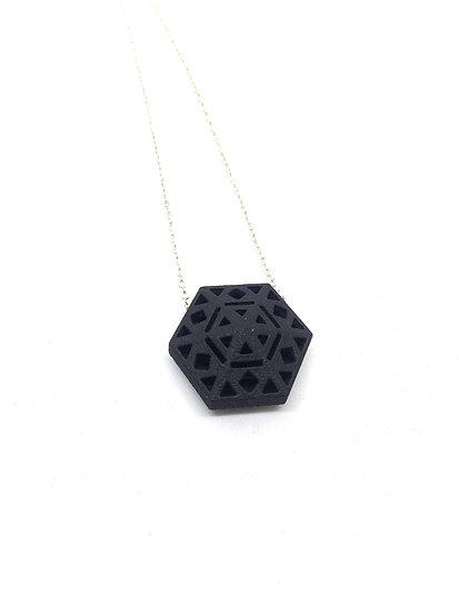 OUTLET - Hexa pendant -Black