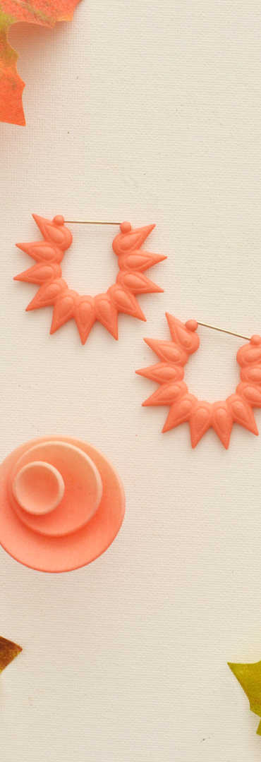 autumn coral hoops and round ring.jpg