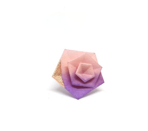 OUTLET - Parisienne - Anello Vertigo ROSA