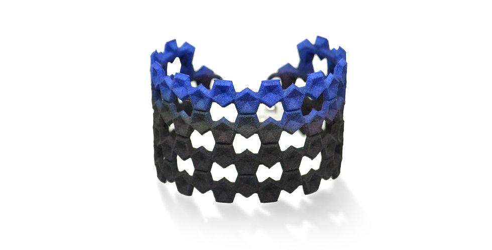 LACE Bangle - Black & blue