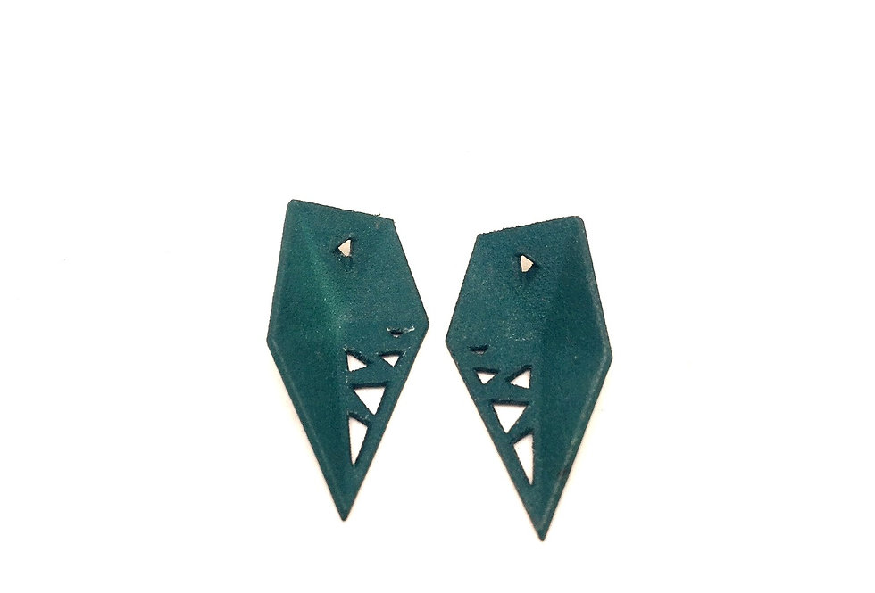 OUTLET Interchangeable earrings - colour replacement - Green
