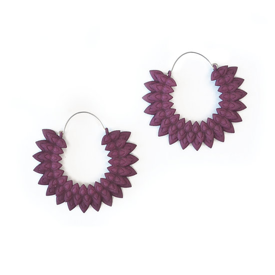 Dahlia earrings