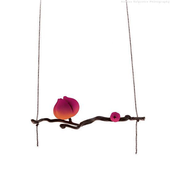 Bloom pendant - double flower