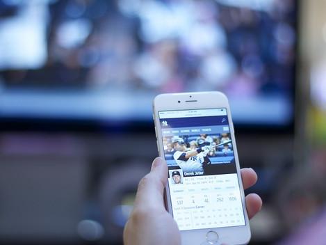 Mais internet, menos televisão