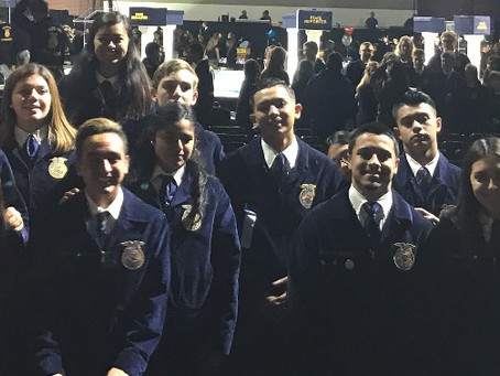 2019 State FFA Leadership Conference Applications Available Now!