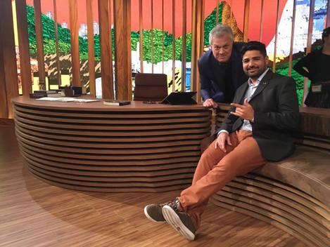 Samuel Silva, fundador da Net Rocinha, foi convidado do Conversa com Bial