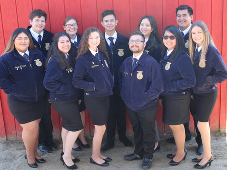 Your 2019-2020 Chapter Officer Team