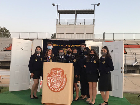 Friends and Family Awards Program Results and the New 2021-2022 Chapter Officer Team