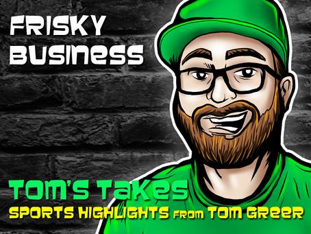 Tom's Take: Beckham's Frisky Business