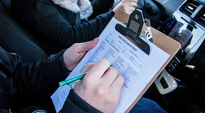 Report Sheet Drivewise | Driving School