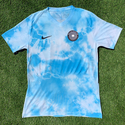 Nike SS hand dyed football jersey size Large