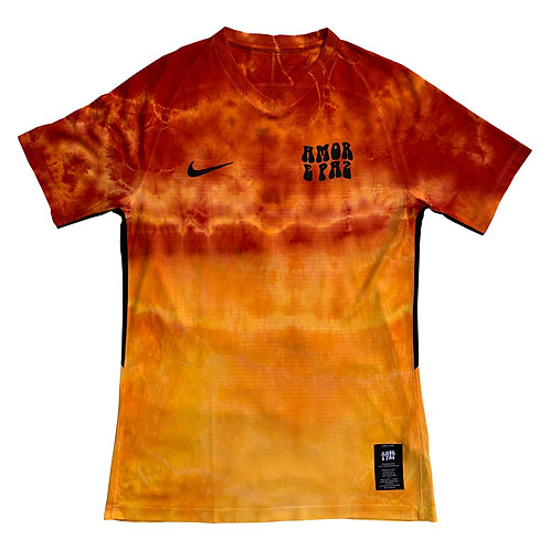 YELLOW/ORANGE/RED NIKE HAND DYED JERSEY