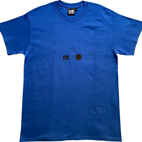 ROYAL BLUE SUN TEE