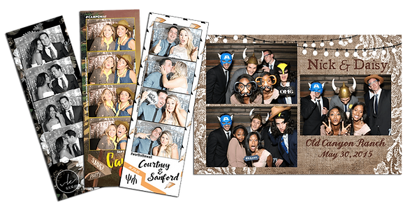 The Booth & Bus Co. - Custom designed photo strips
