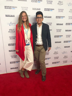On the red carpet with Avery Rouda