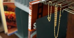 """""""last 1 each"""" jackson matisse H bracelet & necklace"""