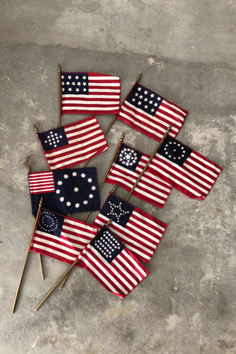 vintage us flag-assorted