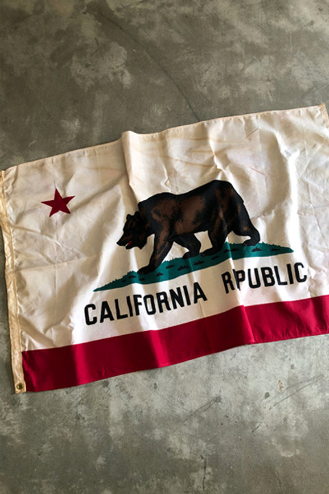 vintage california state flag-1
