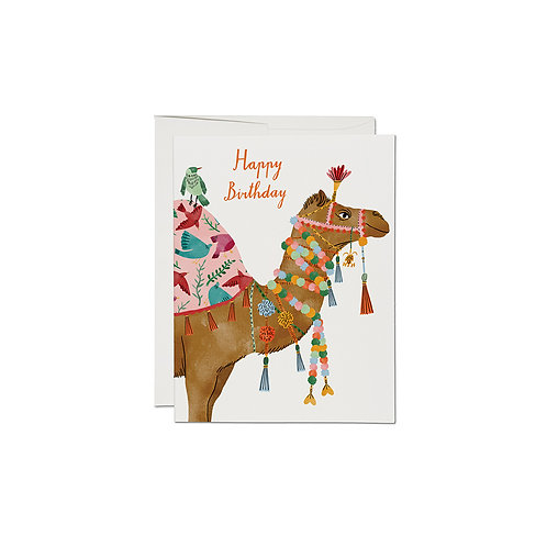 "RED CAP CARDS  ""CAMEL"""