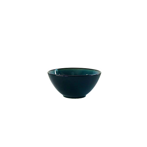 BLACK AND BLUE  TABLE WARE - 123 BOWL -