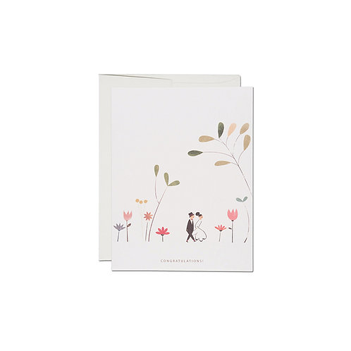 "RED CAP CARDS  ""PERFECT WEDDING"""