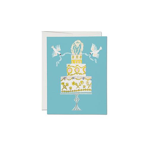 "RED CAP CARDS  ""LOVE CAKE"""