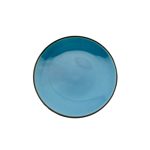 BLACK AND BLUE  TABLE WARE - 245 PLATE -