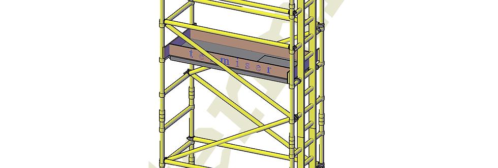 פיגום פיברגלס 2.2 מטר