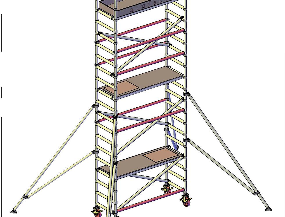 פיגום רוחב סטנדרטי 74 סמ - גובה דריכה 6 מטר