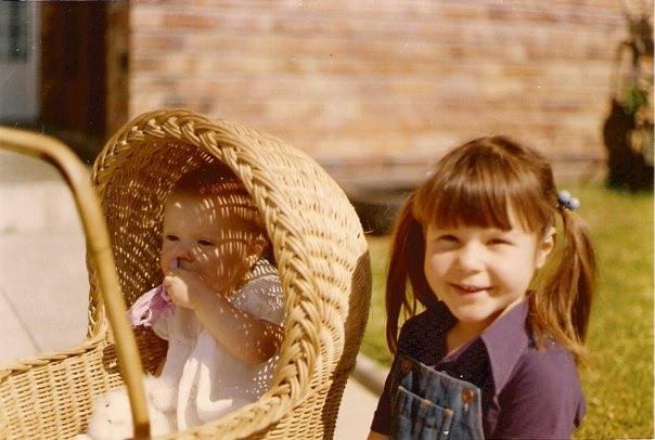 My big sister and me