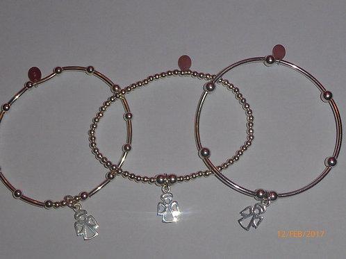 """""""Grace""""  guardian angel bracelet"""