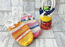 のぼりバッグ障害者の手作り販売