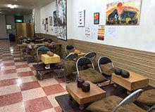 表町商店街で障害者ありがとう囲碁将棋カフェ