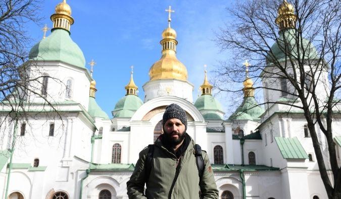 St. Sophia's Cathedral in Kyiv, Ukraine