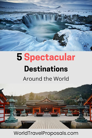 The most spectacular places to visit