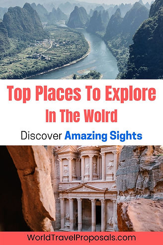 Top places and sights to explore