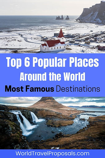 The most popular places in the world