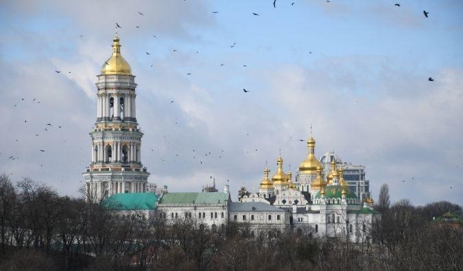 Pechersk Lavra Monastery (Monastery of the Caves) in Kyiv