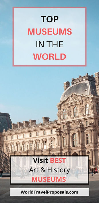 Louvre Museum - Top World's Museums