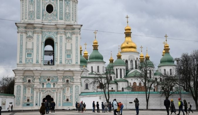 St. Sophia's Cathedral in Kyiv