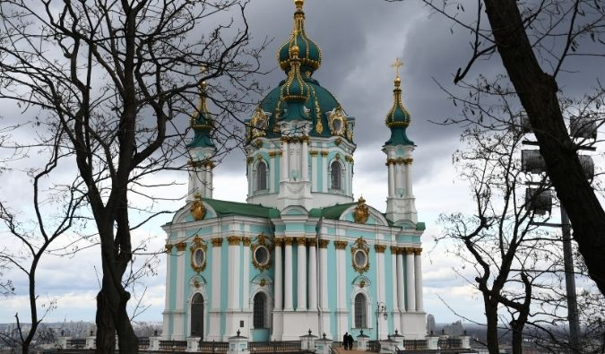 St. Andrews Church in Kyiv
