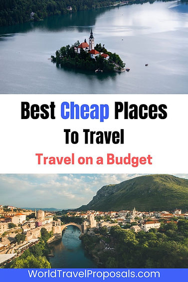 The top cheap places around the world