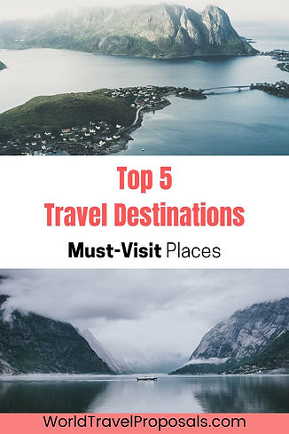 Best travel places to explore