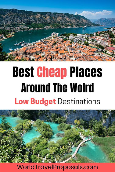 The best cheap places to visit
