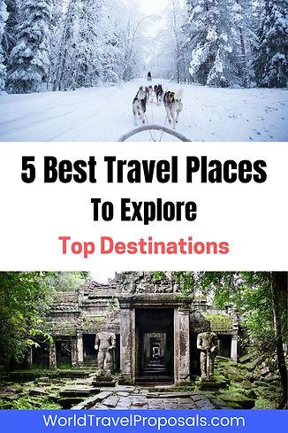Best travel destinations in the world