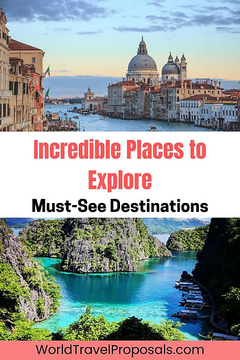 Explore incredible sites of the world