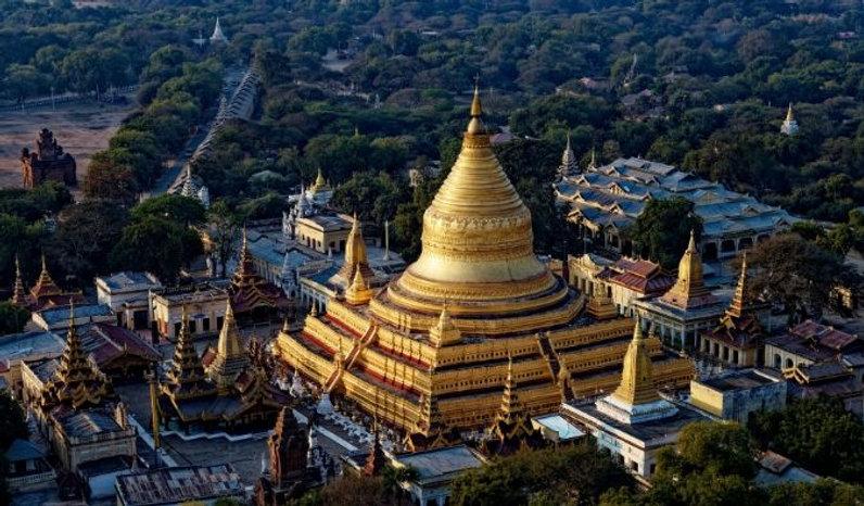 Temples in Myanmar - How to spend ten days in Myanmar
